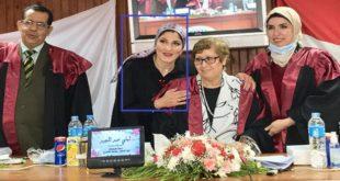 سارة البش | باحثة مصرية تحصل على دكتوراه في توظيف التقنيات