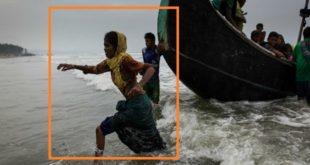 أبناء الروهينجا يتلقون المساعدات الغذائية والطبية في إندونيسيا