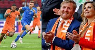 توشحت باللون البرتقالي | طواحين هولندا تهزم أوكرانيا بثلاثية صعبة