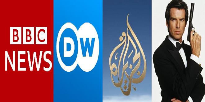 وسائل الإعلام وأجهزة الإستخبارات